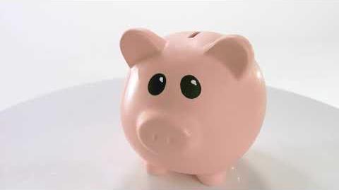 """Jack in the Box Commercial—$2.99 Jumbo Breakfast Platter—""""Piggy Bank"""""""