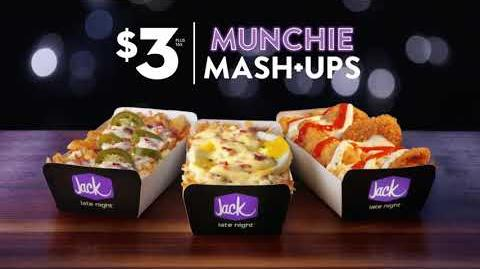 "Jack in the Box Commercial—$3 Munchie Mash-Ups—""Monsters"""
