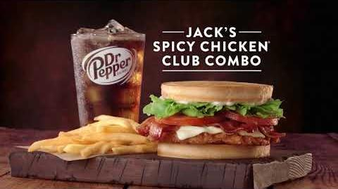 "Jack in the Box Commercial - Jack's Spicy Chicken Club Combo - ""Tube Man"""