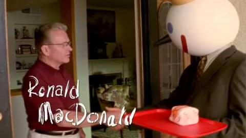 Jack in the Box commercial - Ronald