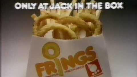Jack in the Box Frings 1979 TV commercial