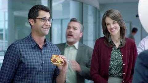 """Comercial de Jack in the Box del Gran Juego — Triple Bacon Buttery Jack — """"Hackers"""""""