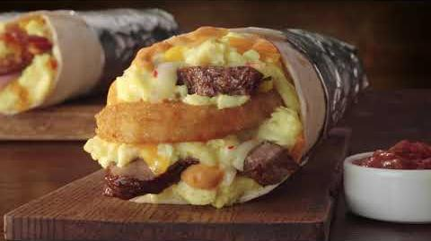 Jack in the Box Commercial - Steak&Egg Burrito Beefin' Up Story HM15