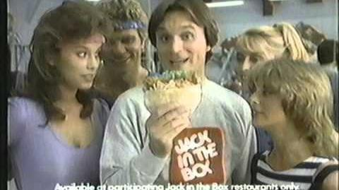 1983 Jack In The Box Commercial
