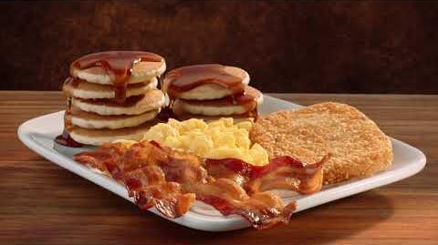 Jack in the Box Commercial - $2 99 Jumbo Breakfast Platter Piggy Bank Story HM15