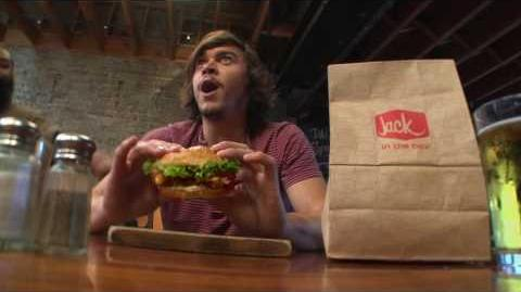 "2016 Jack in the Box – Jack's Brewhouse Bacon Burger – ""Undercover Jack"""