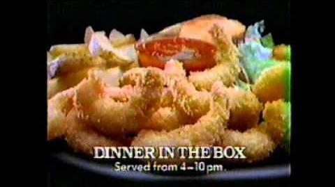 Jack in the Box - Dinner in a Box Commercial