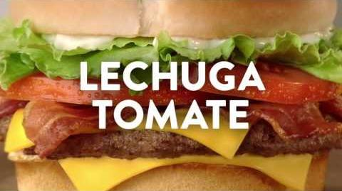 "Comercial de Jack in the Box - BLT Cheeseburger Combo por $4.99 – ""Video Juego"""