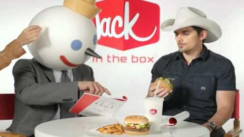Brad Paisley's Jack in the Box Commercial