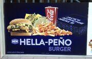 Hellapeno-burger