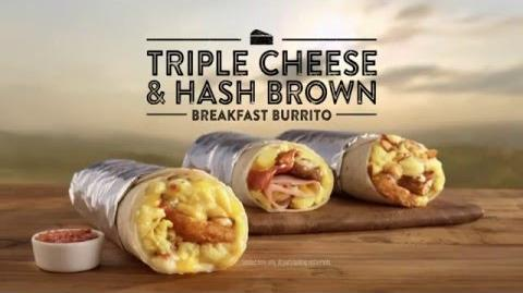 "Jack in the Box Commercial – Triple Cheese and Hash Brown Breakfast Burrito - ""Triple Cheeeese!"""