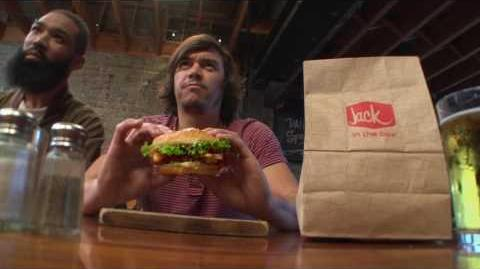 "Jack in the Box 2016 – Jack's Brewhouse Bacon Burger – ""Jack Encubierto"""