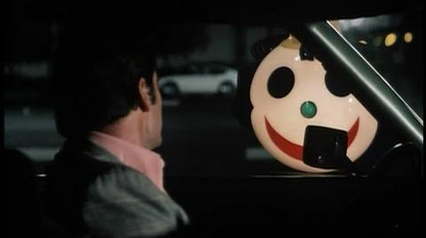 Jim Rockford Tells Jack in the Box Clown to Call the Cops - The Rockford Files - 1975