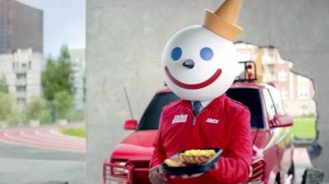 "Jack in the Box Commercial—$2.99 Jumbo Breakfast Platter—""Handball"""