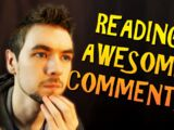 Reading Awesome Comments Tag!