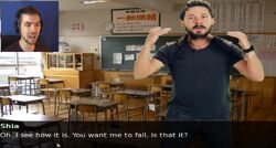 Shia labeouf meme master dating simulator