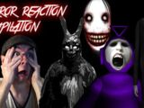 Horror Game Reaction Compilation