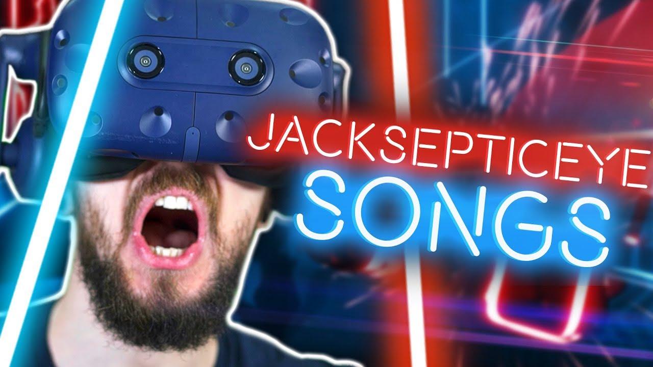 Playing Custom Jacksepticeye Songs in Beat Saber VR   Jacksepticeye