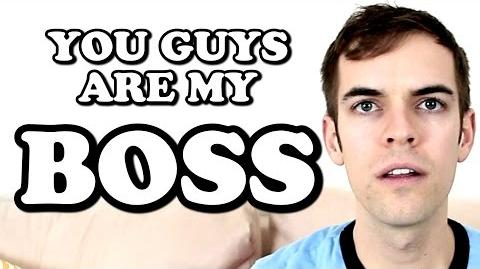 YOU GUYS ARE MY BOSS (JACKASK 47)