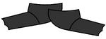 Swimming Flippers black