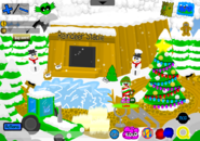 Holly Jolly Party Pet Shop outside