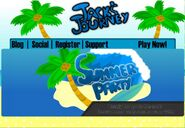 Summer Party homepage