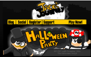 Halloween Party 2014 homepage
