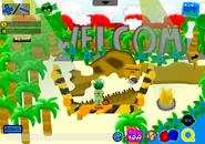 PrehistoricPartyWelcomeRoom