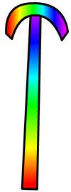 Rainbowstaff