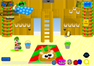 Holly Jolly Party Pet Shop inside