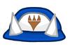 Blue Horn Hat