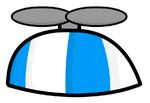 BluePropellerHat