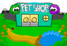 Nav pet shop outside