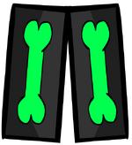 Neon Skeleton Pants