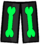 Neon Skeleton Pants
