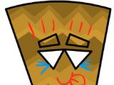 Prehistoric Tiki Mask