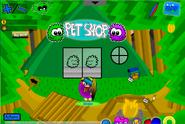 Summer Party pet shop outside