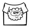 White Fuzzy T-Shirt