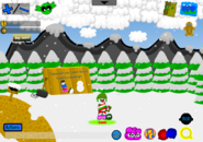 Holly Jolly Party Snowman Building