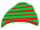 Red and Green Beanie