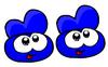 Blueslippers