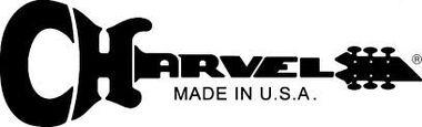 Logo CharvelMadeInUSA White