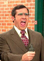 Brick yelling