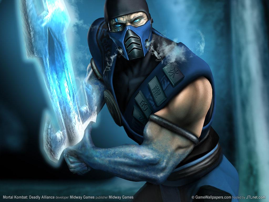 Sub Zero Mortal Combat Wallpaper