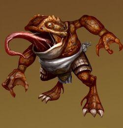 Toad Demon concept art