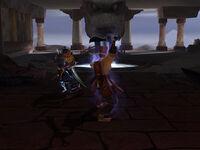 Prince Sun Kin vs. Death's Hand