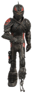 Hiccup, 21, in dragon armor