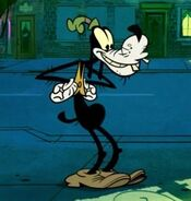 Goofy in the new Mickey Mouse shorts