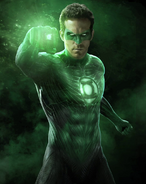 Green Lantern Hal Jordan Ryan Reynolds