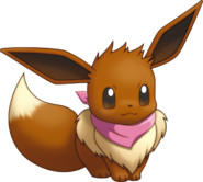Courtney as an Eevee